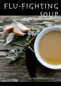 This Garlic Soup Will Fight Colds, Flu, and Maybe Even Vampires! (It may even be better than antibiotics…) This soup will fight colds, flu, and even vampires. (It may even be better than antibiotics Flu Remedies, Health Remedies, Home Remedies, Natural Cures, Natural Health, Soup Recipes, Healthy Recipes, Healthy Soup, Eat Healthy