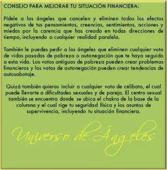#UniversoDeAngeles Consejo para mejorar tu vida financiera.