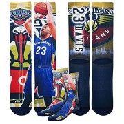 New Orleans Pelicans NBA Center Court Crew Socks Men's Medium – Anthony Davis www.nbafaniam.com