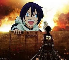 Attack on Yato?? XD