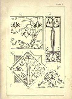 art nouveau drawings - Google Search: