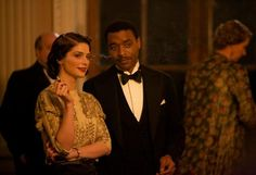 "Janet Montgomery and Chiwetel Ejiofor in ""Dancing on the Edge""."