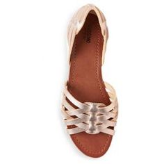 Nine West 7.5 Got Bank Mesh Sandal