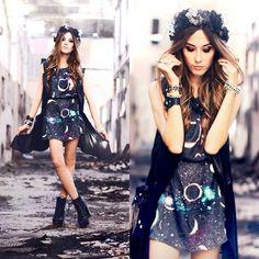 My Philosophy Dress, Romwe Vest, Choies Shoes