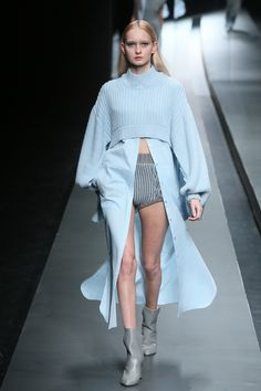 I'll see your thigh-high slit and raise you a MIDRIFF slit! - ELLE.com