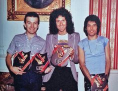 John Deacon • Brian May • Freddie Mercury