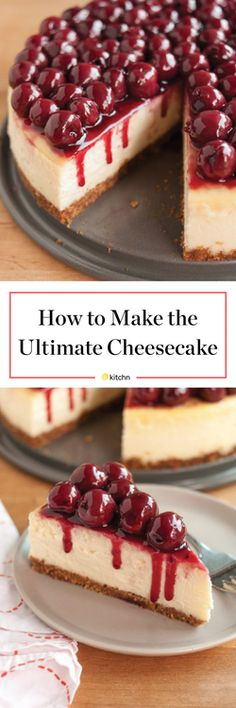 How To Make Perfect Cheesecake - Step-by-Step Recipe   Kitchn