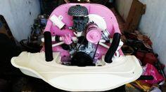 Vosvos pink engine , Vosvos candy engine