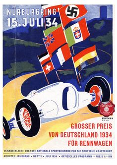 Großer Preis von Deutschland am 15. Juli 1934