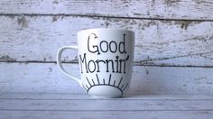Coffee Mug, Coffee Cup, Sharpie Mug $10