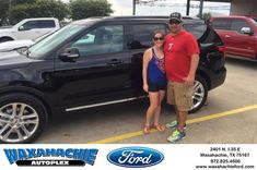 Happy Anniversary to Brandi on your #Ford #Explorer from Justin Bowers at Waxahachie Ford!  https://deliverymaxx.com/DealerReviews.aspx?DealerCode=E749  #Anniversary #WaxahachieFord