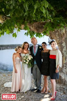 Natalie Pinkham's wedding day