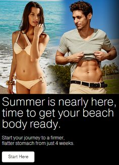 Summer is nearly here folks! Time to start getting your beach body ready! Just visit www.slendertone.com #StartHere #Summer #BeachBody #Slendertone