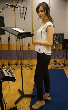 Voice Recording For MGSV The Phantom Pain Continues Today With Stefanie Joosten As Quiet