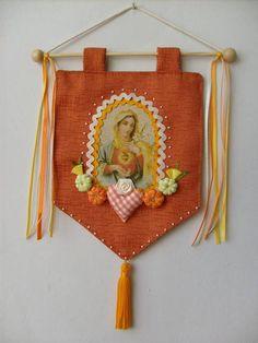Estandarte Sagrado Coração de Maria
