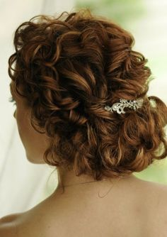 hair updos for long curly hair hair by michelle bertelli of szowded - Hair Styles Bridesmaid Hair, Prom Hair, Prom Updo, Wedding Hair And Makeup, Hair Makeup, Curly Hair Updo Wedding, Hair Wedding, Bridal Updo, Wedding Hairstyles For Curly Hair