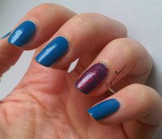 Catrice Blue Cara Ciao with Accent: http://penguinlacquer.blogspot.de/2014/06/barry-again.html  #nails #catrice