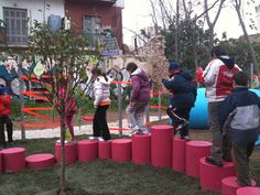 Great temporary playground installation.