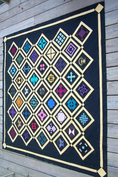 Dear Jane Amish swap quilt by luakrug at Flickr:  Luann's Loose Threads