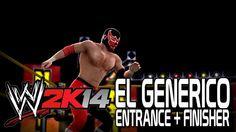 WWE 2K14 - El Generico Entrance + Finisher