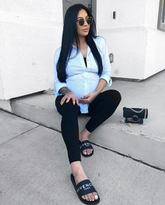 pregnancy outfits casual 384283780706758458 - Source by BlackLoovely Cute Maternity Style, Maternity Dresses Summer, Stylish Maternity, Maternity Wear, Maternity Fashion, Pregnancy Wardrobe, Pregnancy Outfits, Mom Outfits, Stylish Outfits