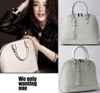 The Latest Fashion Water Ripples Genuine Leather Shell Bag Designer Brand Women Leather Handbags Shoulder Totes Bags B181