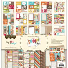 kit papeles Sn@p life de Simple Stories