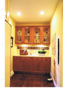 built in hutches in kitchens | built in hutch (2).jpg , cabinets and deco columns.JPG , Interior ...