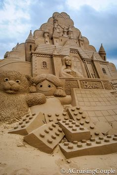 Spectacular Sand Sculptures: A Photo Essay from Fulong Beach What was the best sand castle you created as a child? Fulong International Sand Sculpture Festival Taiwan Barbie