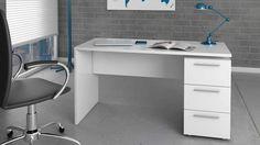 Escritorio mueble kit fácil montaje color blanco. #escritorios #escritoriosbaratos #muebleskit #muebleescritorio #puntogar