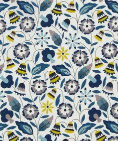 Liberty Tana lawn in 'Bobo' pattern, in colourway A.