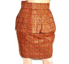 African Skirt, African Ankara Pencil Skirt, African Fabric Pencil Skirt, Handmade pencil Skirt, Ankara Fabric Skirt By ZabbaDesigns