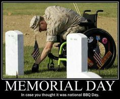 How will you spend YOUR Memorial Day weekend?