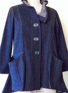 Gayle Ortiz: Stretch Denim Jacket