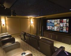 find this pin and more on home decor contemporary media room ceiling design - Home Media Room Designs