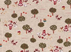 Little Red Fabric