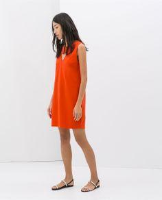 ZARA - WOMAN - LOW BACK DRESS - i like the simplicity of this dress