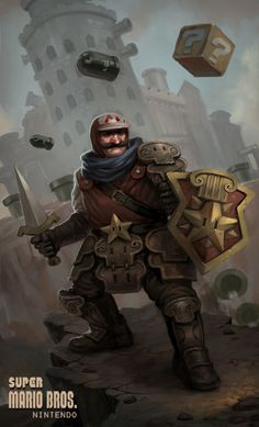 Mushroom Kingdom Knight