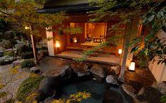 Gora Kadan Onsen Hakone, Arrow's favorite room