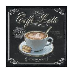 'Coffee House Caffe Mocha' Art Print - Chad Barrett | Art.com Coffee Art, Coffee Poster, I Love Coffee, Black Coffee, Coffee Drawing, Coffee Painting, Coffee Shop, Coffee Maker, Coffee Music