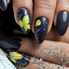 Design For Autumn Nails 2018 Autumn nail designs are absolutely what you accept been attractive for, haven't you? Fall Nail Art Designs, Beautiful Nail Designs, Beautiful Nail Art, Beautiful Hands, Nails 2018, Thanksgiving Nails, Manicure E Pedicure, Luxury Nails, Autumn Nails
