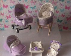 Dolls House Miniature OOAK Baby and Modern by HELENSOOAKMINIATURES
