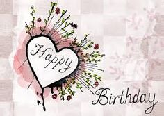 free watercolor birthday card images - Google Search