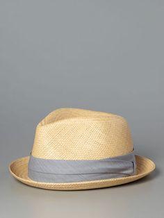 Panama Fedora by Rag & Bone at Gilt Panama, Dope Hats, Fashion Shoes, Mens Fashion, Fedora Hats, Straw Hats, Gq Style, Stylish Hats, Well Dressed Men