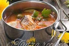Coco, Thai Red Curry, Soup Recipes, Supe, Ethnic Recipes, Onion, Whitefish, Tasty, Water