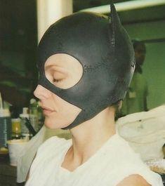 Catwoman Mask, Catwoman Cosplay, Michelle Pfeiffer, Im Batman, Batman Art, Batman Robin, Tim Burton, Divas, Batman Returns 1992