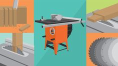 Joining wood can be simple on a table saw. Create seamless, beautiful joints for all your construction projects. Woodworking Industry, Woodworking Joints, Learn Woodworking, Easy Woodworking Projects, Woodworking Techniques, Table Saw Jigs, Wood Joints, Craftsman House Plans, Wooden Projects