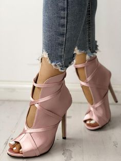 Fashion Peep Toe Bandage Pumps. Shoes HeelsVans ShoesWedge ShoesPlatform ... ba2a49f712f3