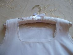 ANTIQUE FRENCH Cotton Chemise Petticoat Nightdress Slip Lace trim
