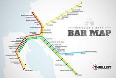 SF: Bars near every Bart stop. Sometimes, you just need a place by the Bart.